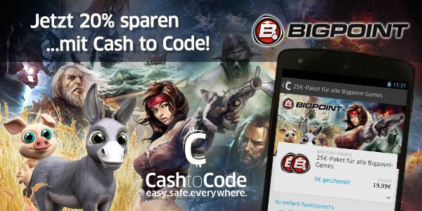 Cash to Code!